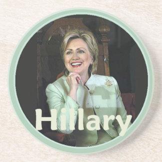 Hillary 2016 posavasos diseño