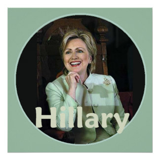 Hillary 2016 poster