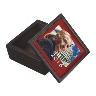 Hillary 2016 premium keepsake box
