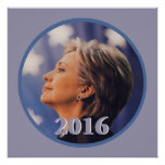 HILLARY 2016 PRINT