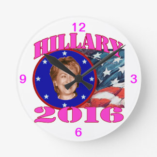 Hillary 2016 reloj de pared