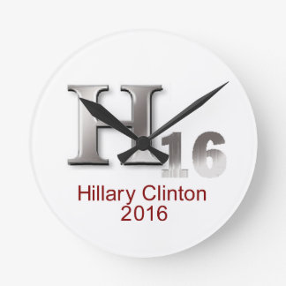 Hillary 2016 relojes de pared