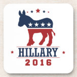 HILLARY 2016 ROCKWELL -.png Beverage Coasters