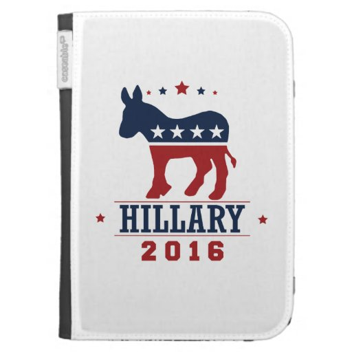 HILLARY 2016 ROCKWELL -.png Kindle Keyboard Case