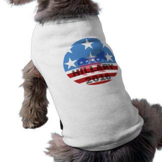 Hillary 2016 camiseta de perrito