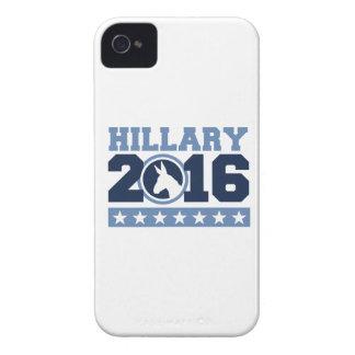 HILLARY 2016 ROUND DONKEY -.png iPhone 4 Case