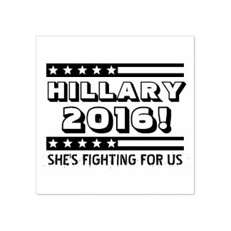Hillary 2016 rubber stamp