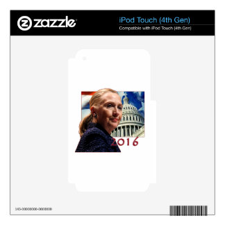 Hillary 2016 skin for iPod touch 4G