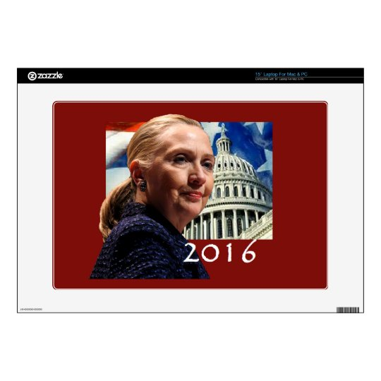Hillary 2016 skin for laptop