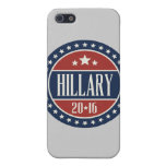 HILLARY 2016 STARCIRCLE -.png iPhone 5 Covers