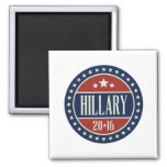HILLARY 2016 STARCIRCLE -.png Refrigerator Magnets