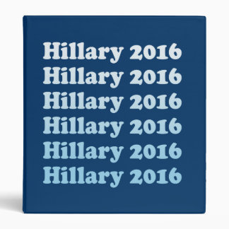 HILLARY 2016 STEP AND REPEAT BINDER
