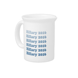 HILLARY 2016 STEP AND REPEAT PITCHERS