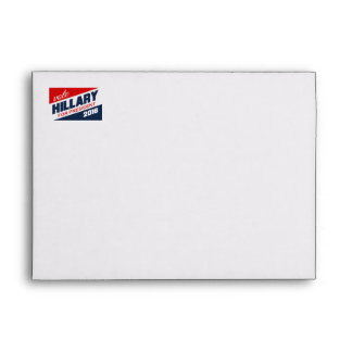 HILLARY 2016 SUPPORTER -.png Envelope