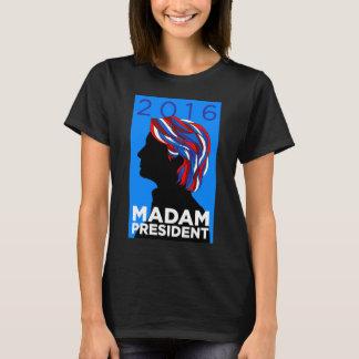 Hillary 2016: T-shirt de la señora presidente Playera