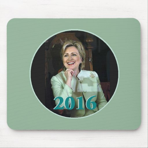 Hillary 2016 tapete de ratones