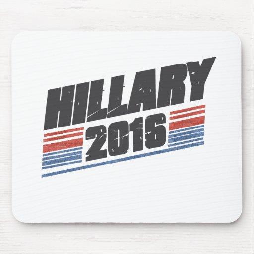 Hillary 2016 tapetes de ratones