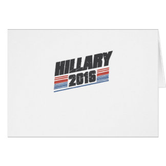 Hillary 2016 tarjeta