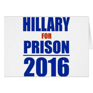 Hillary 2016 tarjeta de felicitación