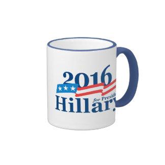 Hillary 2016 taza a dos colores