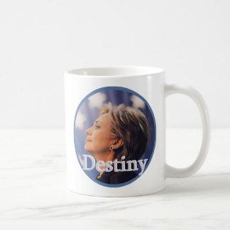 Hillary 2016 taza básica blanca