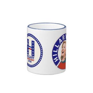 Hillary 2016 taza de dos colores