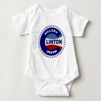 HILLARY 2016 THE TIME IS NOW! BABY BODYSUIT