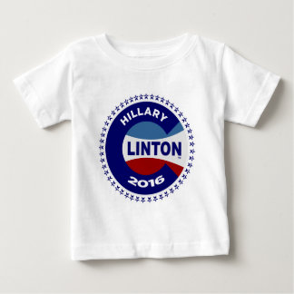 HILLARY 2016 THE TIME IS NOW! BABY T-Shirt