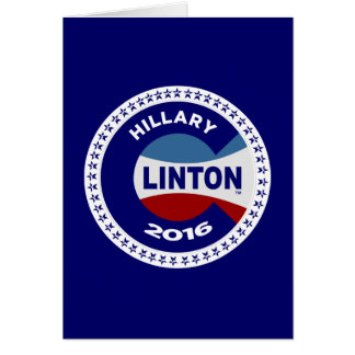 HILLARY 2016 THE TIME IS NOW! CARD