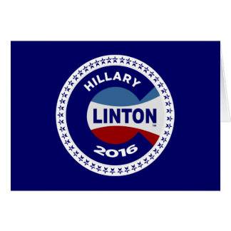 HILLARY 2016 THE TIME IS NOW! GREETING CARDS