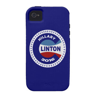 HILLARY 2016 THE TIME IS NOW! Case-Mate iPhone 4 COVERS