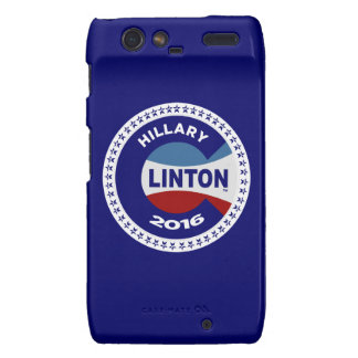 HILLARY 2016 THE TIME IS NOW! DROID RAZR CASES