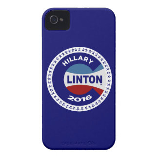 HILLARY 2016 THE TIME IS NOW! iPhone 4 CASES