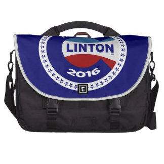 HILLARY 2016 THE TIME IS NOW COMPUTER BAG