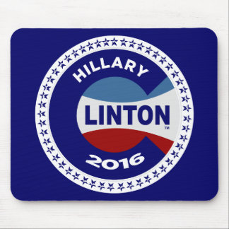 HILLARY 2016 THE TIME IS NOW! MOUSEPAD