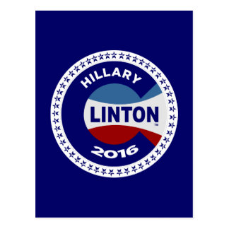 HILLARY 2016 THE TIME IS NOW! POST CARD