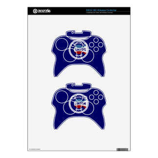 HILLARY 2016 THE TIME IS NOW! XBOX 360 CONTROLLER SKIN