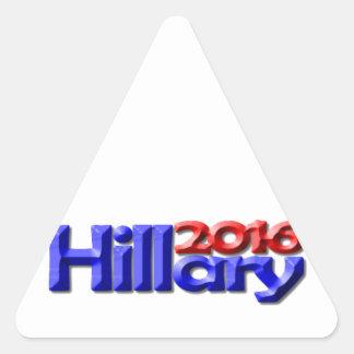 Hillary 2016 triangle sticker