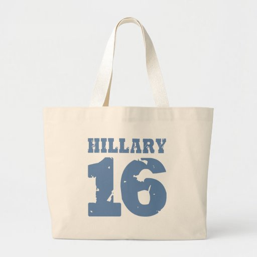 HILLARY 2016 UNIFORM DISTRESSED -.png Tote Bags
