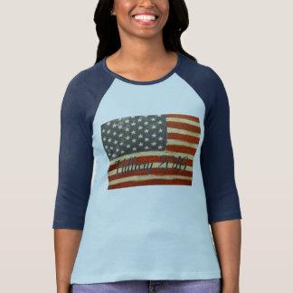 Hillary 2016 Vintage Flag Shirt