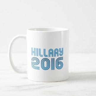 HILLARY 2016 VINTAGE -.png Classic White Coffee Mug
