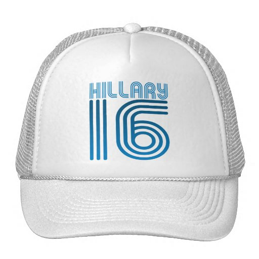 HILLARY 2016 VINTAGE.png Trucker Hat
