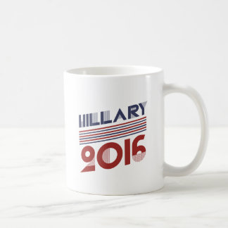 HILLARY 2016 VINTAGE STYLE -.png Classic White Coffee Mug