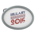 HILLARY 2016 VINTAGE STYLE -.png Oval Belt Buckles