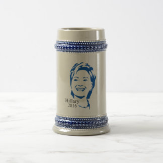 Hillary 2016 Vote Hillary Clinton for President Beer Stein
