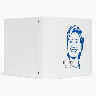Hillary 2016 Vote Hillary Clinton for President Binder