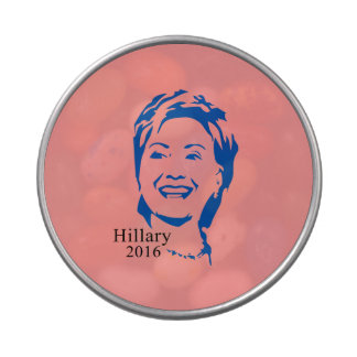 Hillary 2016 Vote Hillary Clinton for President Candy Tin