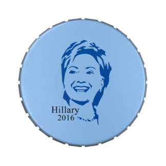 Hillary 2016 Vote Hillary Clinton for President Candy Tins