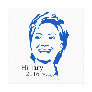 HIllary 2016 Vote HIllary Clinton for President Canvas Print
