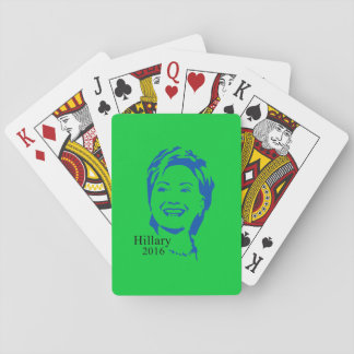 Hillary 2016 Vote Hillary Clinton for President Card Deck